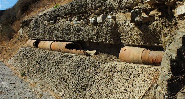 Το Αρχαίο Υδραγωγείο της Νάξου
