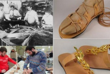 Timeless: Hand-made Leather Greek Sandals