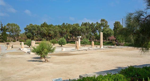 The Ancient Sanctuary Dionysus at Yria