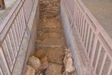Η Σήραγγα του Αρχαίου Υδραγωγείου στις Περιοχές Μπαρού και Καμίνια