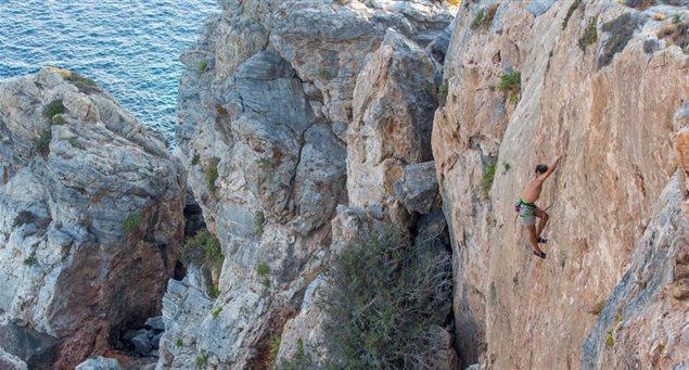 Q&A: Rockclimbing on Schinoussa!