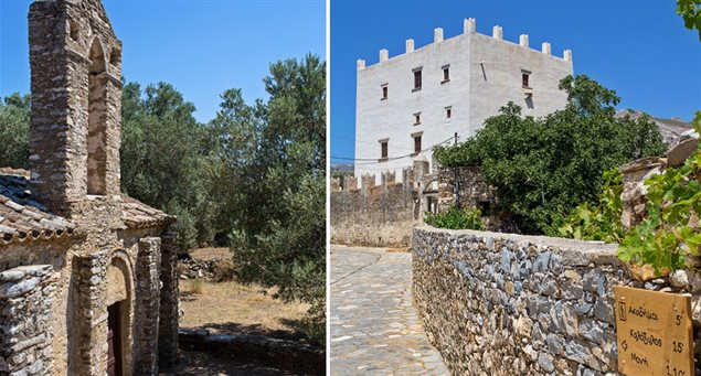 Trail 4: Olive Groves & Byzantine Park of Tragea