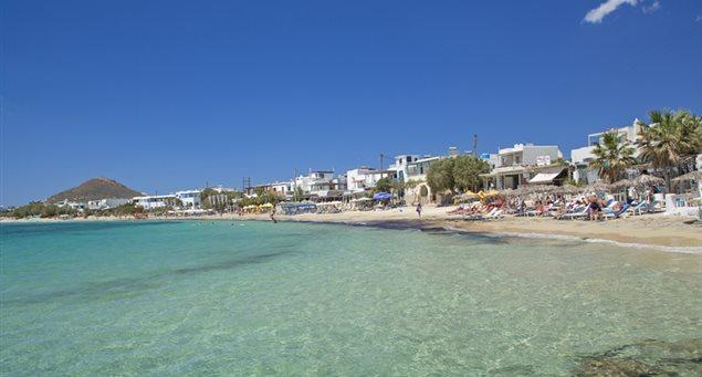 Camp Out at Some of Naxos' Best Beaches!