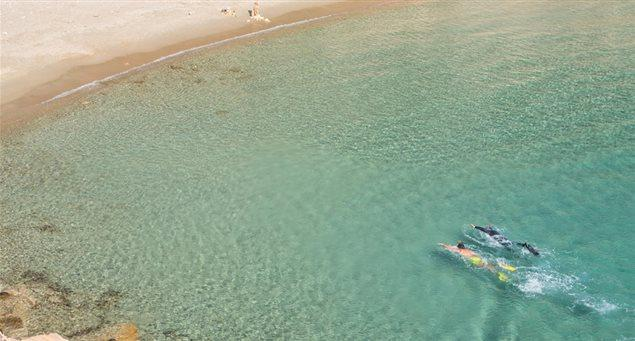 Παραλία Αλιμιά Ηρακλειά
