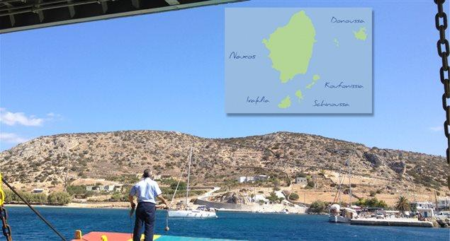 How to Get to the Islands of the Small Cyclades