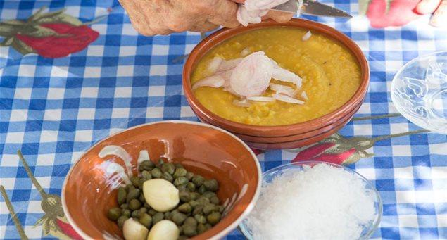 Fava (split chickpeas)