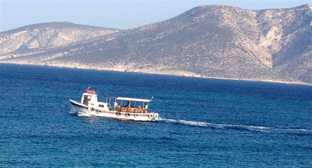 Tours & Excursions--All Aboard! Koufonissia's 4 Sea Taxis