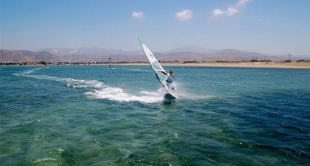Naxos-Surf Club - St. George Beach (Agios Georgios)