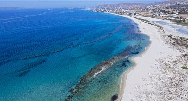 Naxos' Top 10 Most Popular Beaches