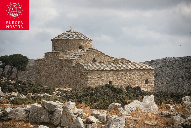 International distinction for Naxos – the 1st Prize of Cultural Heritage in Europe for 2018 has been awarded to Agia Kyriaki Apeiranthou (video)
